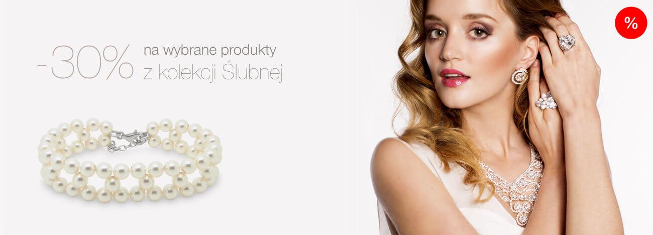 Promocje na wybrane produkty z biżuterii ślubnej
