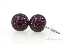 Sztyfty Crystal Gloss 10 mm, Amethyst
