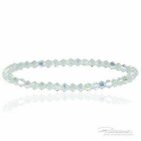 Bransoletka z kryształów Swarovskiego 4 mm w kolorze Crystal AB